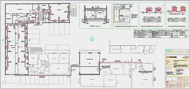 Studio di ingegneria laura fiorentini industriale for Planimetrie capannone